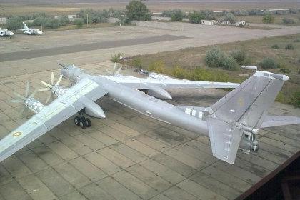 На eBay выставлен стратегический дальний бомбардировщик Ту-95МС